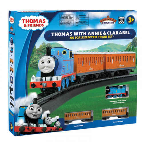 00642BE Thomas with Annie & Clarabel Moving Eyes Train Set