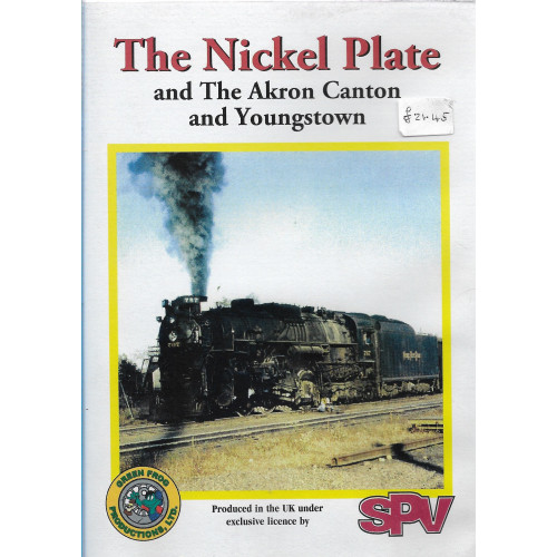 The Nickel Plate and The Akron Canton and Youngstown DVD