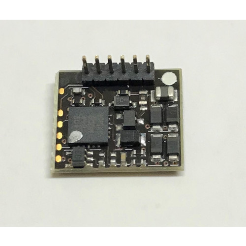 36-556RA E-Z Command 90°6 Pin DCC Decoder (DC Compatible) with Back EMF