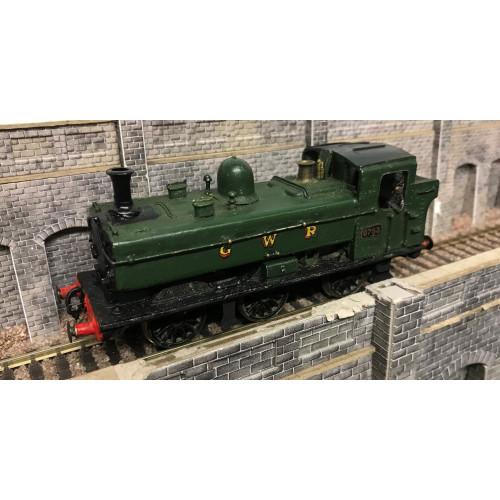 Kit Built GWR 0-6-0 97xx Pannier Tank Locomotive No.9753 in GWR Green