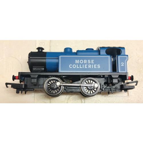 Hornby R2673 0-4-0 Industrial Locomotive No.2 Morse Collieries in Blue Livery