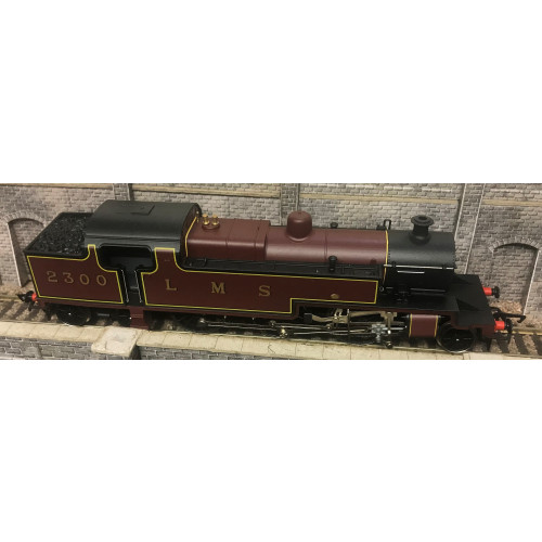 Hornby R055 4P 2-6-4T Tank Locomotive No.2300 in LMS Crimson Livery