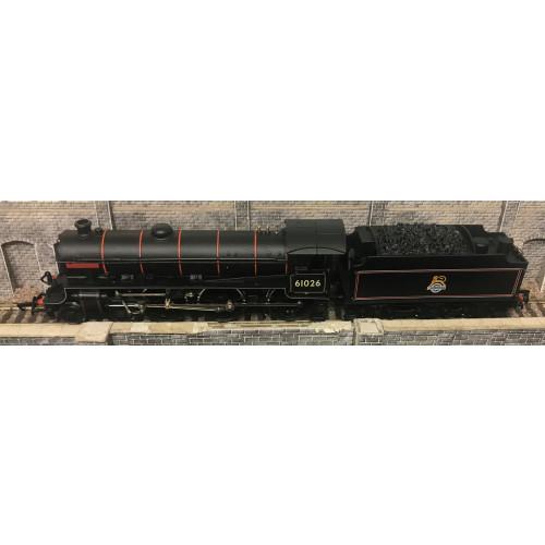 Replica Railways 11011 Class B1 Steam Locomotive No.61026 Ourebi in BR Black Livery