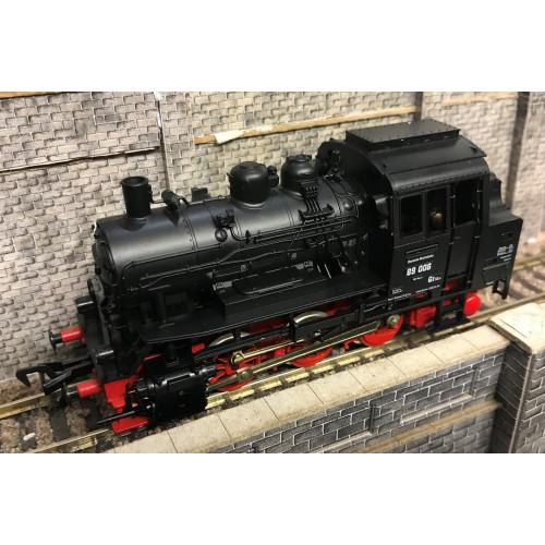 Fleischmann 4019 HO Scale 0-6-0 Tank Locomotive No.89 006 in DRG Black Livery