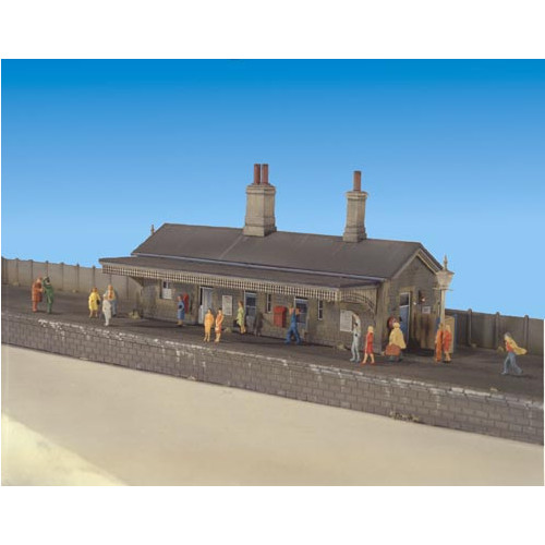204 Ratio Kit Station Building - N Gauge