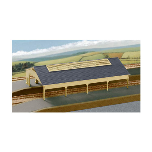 207 Ratio Kits N Gauge GWR Station Train Shed