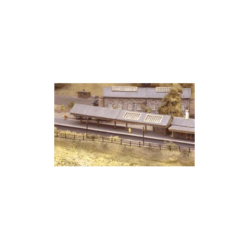 208 Ratio Kit Apex Platform Canopy - N Gauge