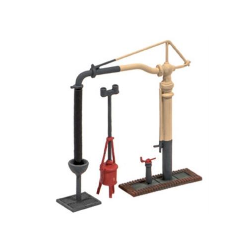 212 Ratio Kit Water Crane & Fire Devil - N Gauge