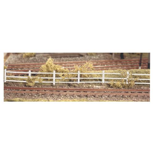 216 Ratio Kit Lineside Fencing White - N Gauge
