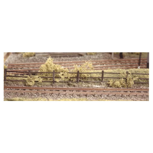 217 Ratio Kits N Gauge Lineside Fencing, Wood Brown
