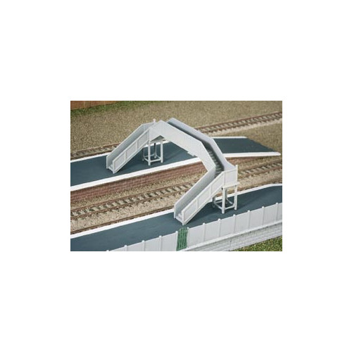 222 Ratio Kit Concrete Footbridge - N Gauge