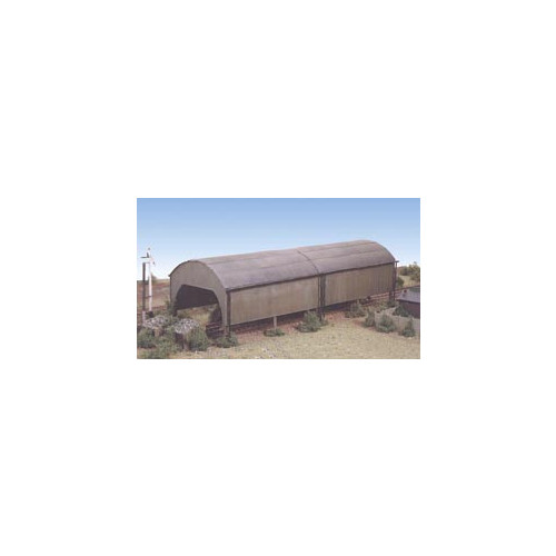 231 Ratio Kit Carriage Shed - N Gauge