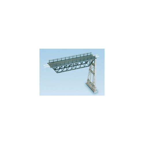 241 Ratio Kit Steel Truss Span with Steel Trestle - N Gauge