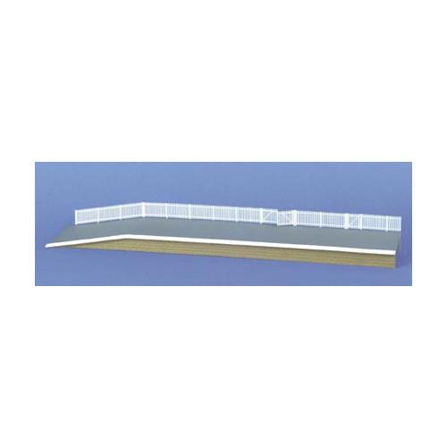 243 Ratio Kit GWR Station Fencing White - N Gauge