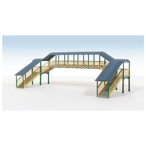 248 Ratio Kit N Gauge Modular Covered Footbridge