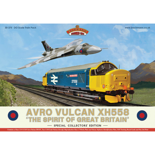 30-375 Avro Vulcan XH558 Collectors Train Pack