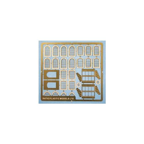 309 Ratio Kit Industrial Windows - N Gauge