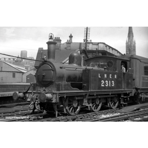 372-825 Class E1 J72 0-6-0T Tank Locomotive No.2313 in LNER Lined Black Livery