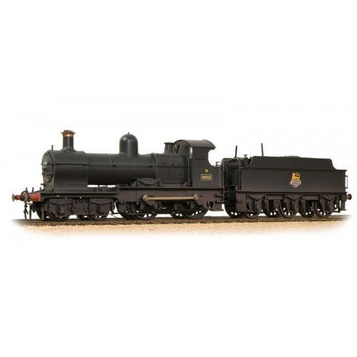 31-086A Class 32xx Earl 4-4-0 Locomotive No.9018 in BR Black with Early Emblem