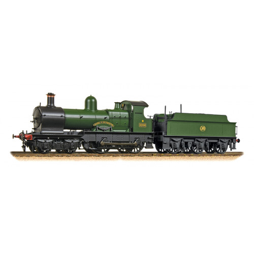 31-090DS Class 32xx Earl 4-4-0 Locomotive No.3206 Earl of Plymouth in GWR Green - DCC Sound