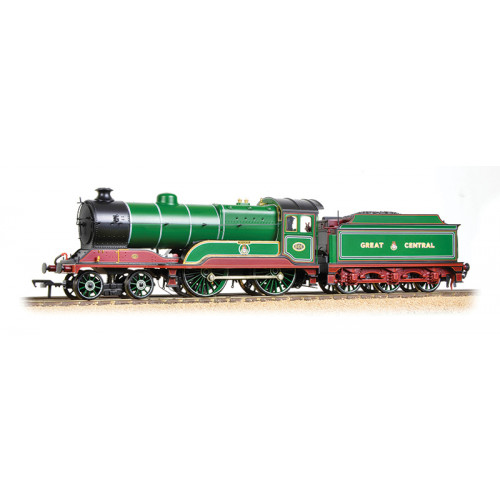 31-147DS Class D11/1 4-4-0 No.502 Zeebrugge in GCR Green & Maroon Livery