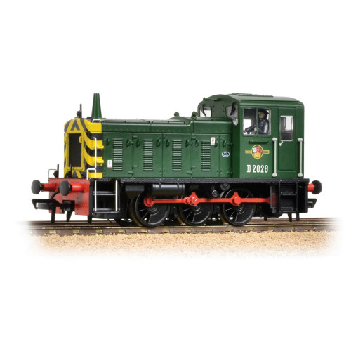 31-361B Class 03 Diesel No.D2028 in BR Green with Wasp Stripes