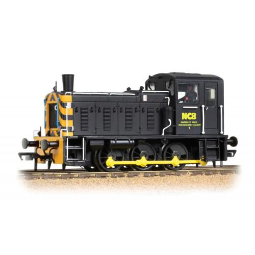 31-367 Class 03 Diesel No.Ex-D2199 in NCB Black Livery