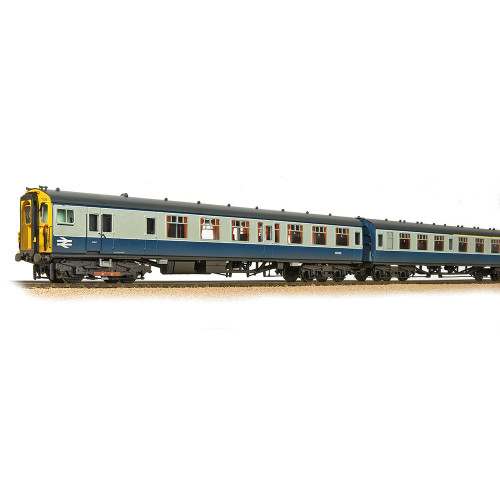 31-427C Class 411 4-CEP 4-Car Electric Multiple Unit No.7106 in BR Blue & Grey - Weathered