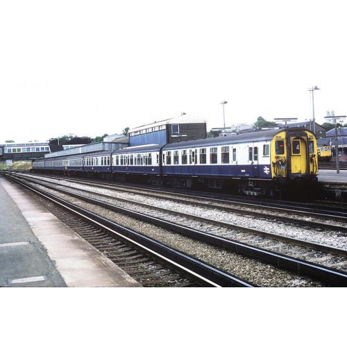 31-491 Class 410/4BEP 4-Car EMU No.7010 in BR & Grey Livery