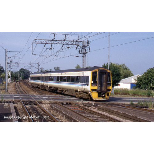 31-517DS Class 158 2 Car DMU No.158849 in Regional Railways Livery - DCC Sound