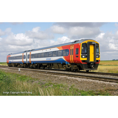 31-518 Class 158 2 Car DMU No.158773 in East Midlands Trains Livery