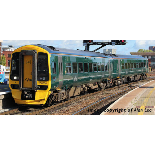 31-519 Class 158 2-Car Diesel Multiple Unit No.158766 in GWR Livery