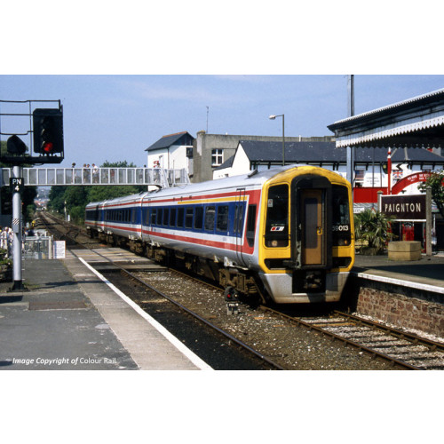 31-520 Class 159 3-Car Diesel Multiple Unit No.159013 in Network South East Livery