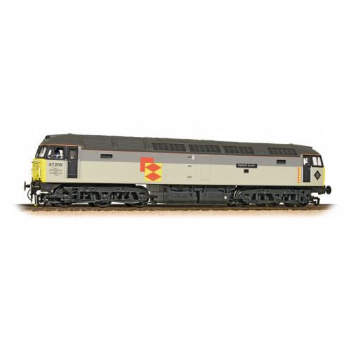 "31-663 Class 47/0 Diesel Locomotive No.47209 ""Herbert Austin"" in Railfreight Distribution Livery"