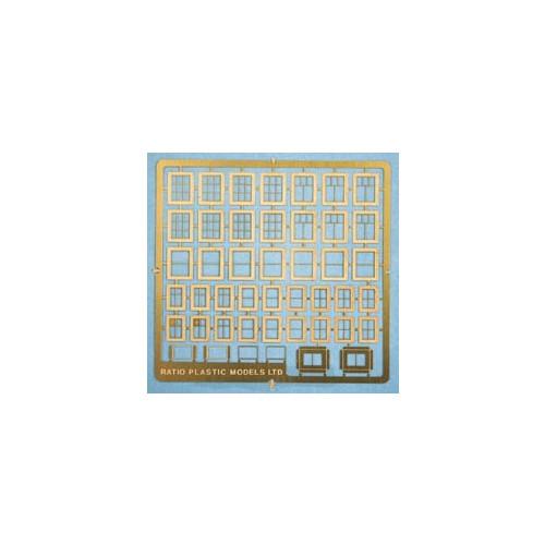 310 Ratio Kit Domestic Windows - N Gauge