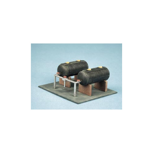 315 Ratio Kit Oil Tanks - N Gauge