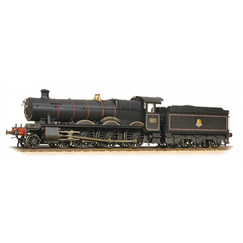 32-002A Class 49xx 4-6-0 Hall Locomotive No.4971 Stanway Hall in BR Black Livery with Early Emblem - Weathered
