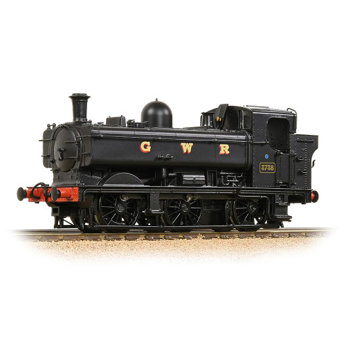 32-199 GWR 8750 Pannier Tank Locomotive No.3738 in GWR Black
