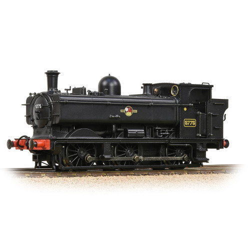 32-216A GWR 57XX Pannier Tank Locomotive No.5775 in BR Black with Late Crest