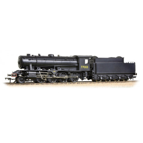 32-254A WD Austerity 2-8-0 Locomotive No.77003 in LNER Plain Black Livery