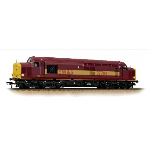 32-390DB Class 37/7 Diesel Locomotive No.37704 in EW&S Livery