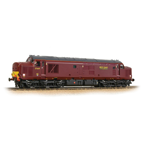 32-395DS Class 37/5 Refurbished Diesel Locomotive No.37669 in WCRC Maroon Livery - Sound Fitted