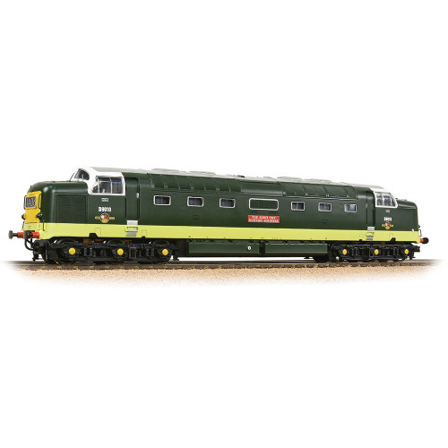 32-529C Class 55 Deltic Locomotive No.D9010 The King's Own Scottish Borderer in BR Two-Tone Green with Small Yellow Panels