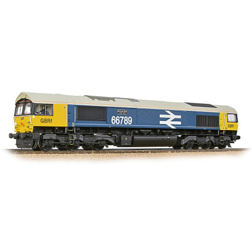 32-740SF Class 66/7 Diesel Locomotive No.66789 British Rail 1948-1997 in GBRf BR Blue with Large Logo - Sound Fitted