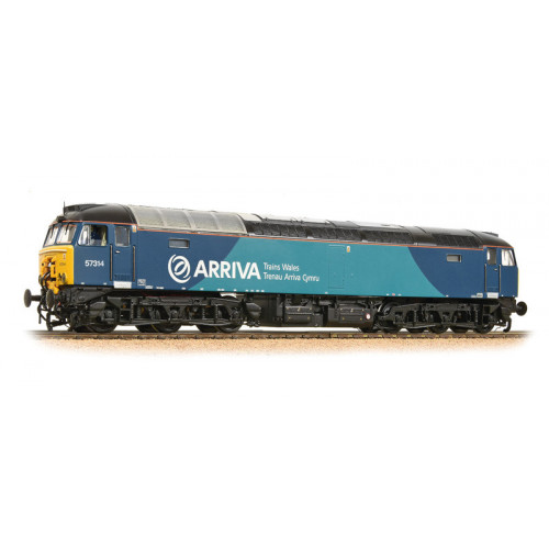 32-755A Class 57/3 Diesel Locomotive No.57314 in Arriva Trains Wales Livery