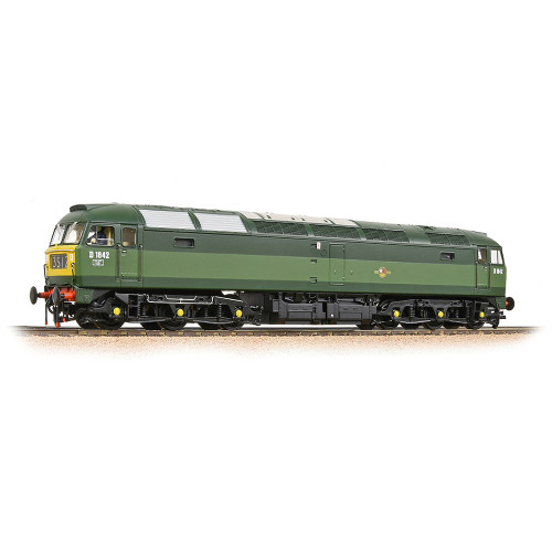 32-806 Class 47/0 Diesel Locomotive No.D1842 in BR Two-Tone Green Livery with Small Yellow Panels