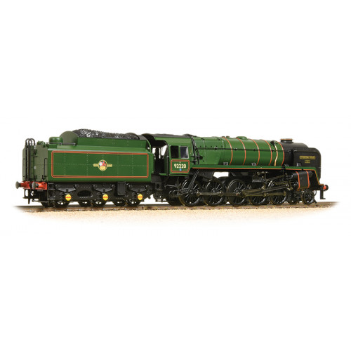 32-850A BR Standard Class 9F 2-10-0 Locomotive No.92220 Evening Star in BR Green with Late Crest
