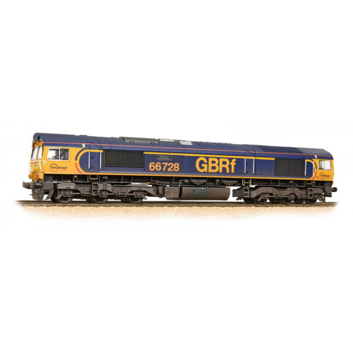 "32-980A Class 66 Diesel Locomotive No.66728 ""Institution of Railway Operators"" in GBRF Livery - Weathered"
