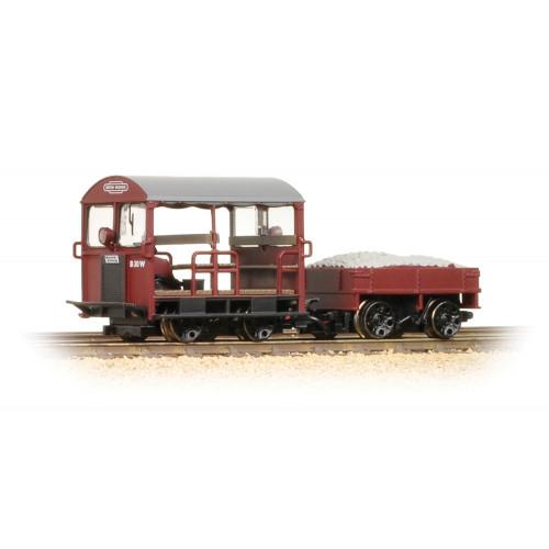 32-991 Wickham Type 27 Trolley Car BR Maroon