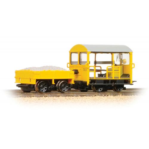 32-992 Wickham Type 27 Trolley Car BR Engineers Yellow